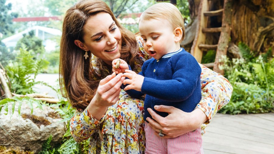 Duchess Kate Opens Up About Prince Louis' First Word