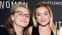 Florence-Pugh-Meryl-Streep-Ordered-Wendy's-to-Little-Women-Set