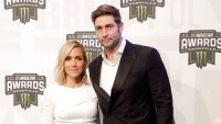 Jay Cutler and Kristin Cavallari NASCAR Cup Series Awards.jpg