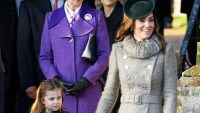 Duchess Kate Middleton and Princess Charlotte Twinning