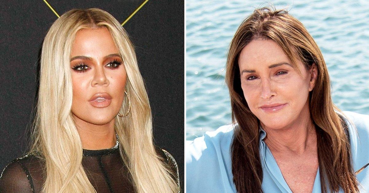 "Khloe Kardashian Caitlyn Jenner Arent the Closest But Have Spoken 01 - كلوي كارداشيان ""لن يكون لديه علاقة سيئة مع كيتلين جينر"