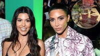 Kim Kardashian Makes Fun of Kourtney Kardashian at Poosh's Movie Night