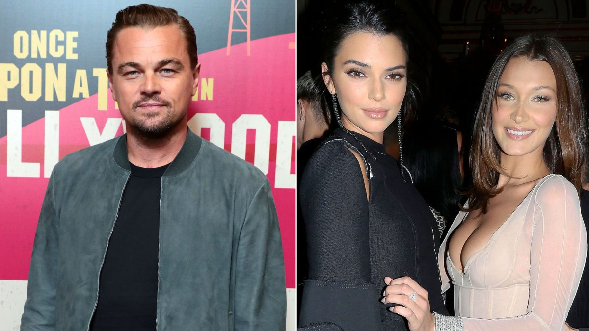 Leonardo DiCaprio Spotted With Kendall Jenner, Gigi and Bella Hadid at Art Basel Miami Afterparty