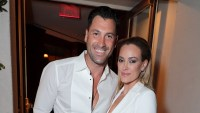 eta Murgatroyd and Maksim Chmerkovskiy Show Off Muscles With Swimsuit Pics