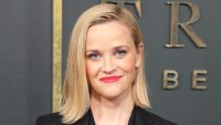 Reese Witherspoon's Bulldog Celebrates His First Christmas