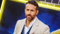 Ryan Reynolds Almost Crushed By Fans Toppling Barricade at Comic-Con in Brazil