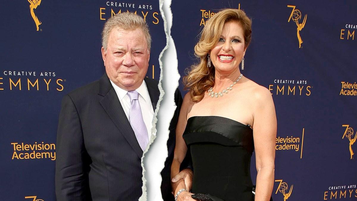 William Shatner Divorcing Wife Elizabeth Shatner After 18 Years of Marriage