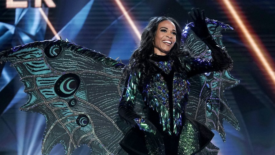 michelle williams masked singer electrocuted