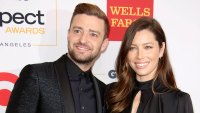 2015 Son Silas Born Justin Timberlake Through the Years