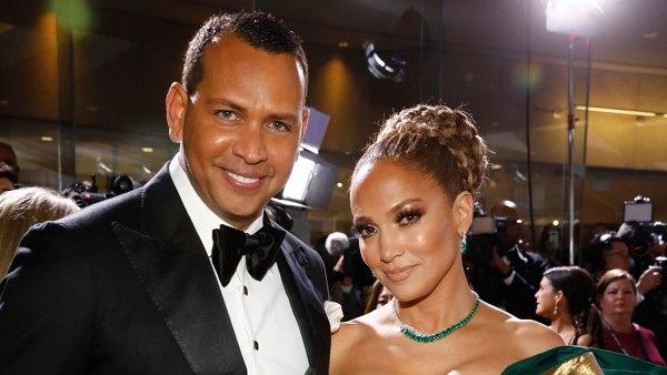 Alex Rodriguez Pens Sweet Message to Jennifer Lopez After Golden Globes Loss