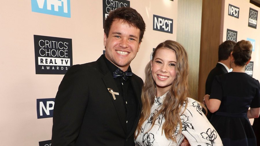 Bindi Irwin and Fiancé Chandler Powell Add a Puppy to Their Family