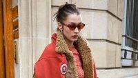 Celebs at Paris Fashion Week - Bella Hadid