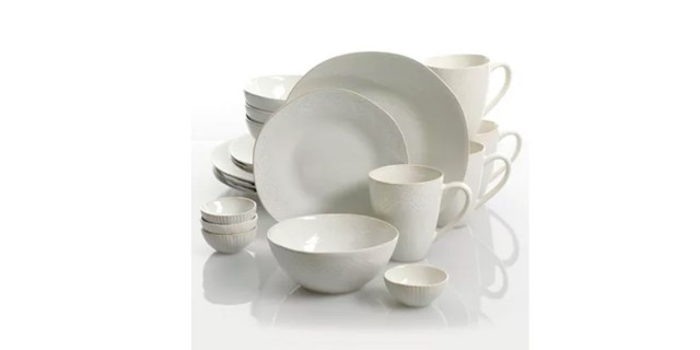Cravings by Chrissy Teigen Tunisian Mist 20-piece Dinnerware Set