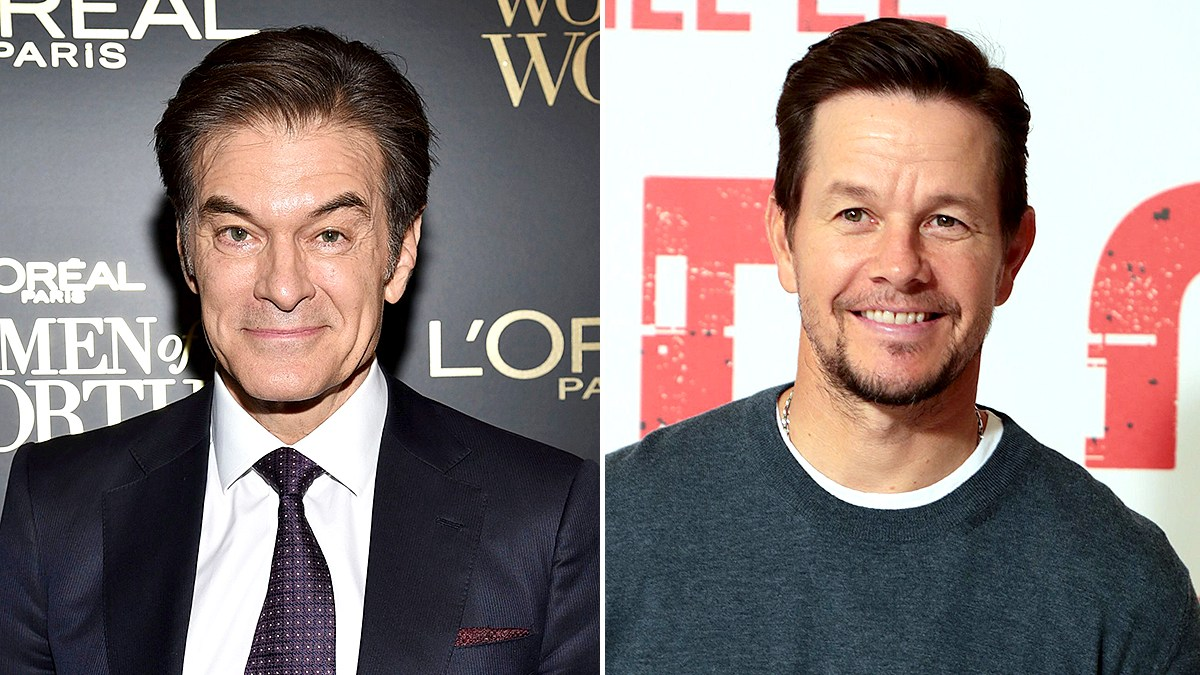 Dr. Oz Challenges Mark Wahlberg to Push-Up Contest After the Pair Disagree on the Importance of Breakfast