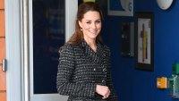 Duchess Kate Middleton Gets Crafty at Children's Hospital