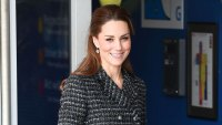 Duchess Kate Middleton Tweed Skirt January 28, 2020
