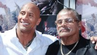 Dwayne The Rock Rocky Johnson Speaks Out Following the Death of His Father Rocky Johnson
