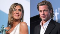 Jennifer Aniston, Brad Pitt Watched My Speech Backstage SAG Awards 2020
