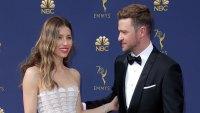 Jessica Biel and Justin Timberlake 70th Primetime Emmy Awards