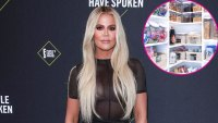 Khloe Kardashian 45th Annual People's Choice Awards Wearing Laquan Smith Shows Off Her Organized Pantry