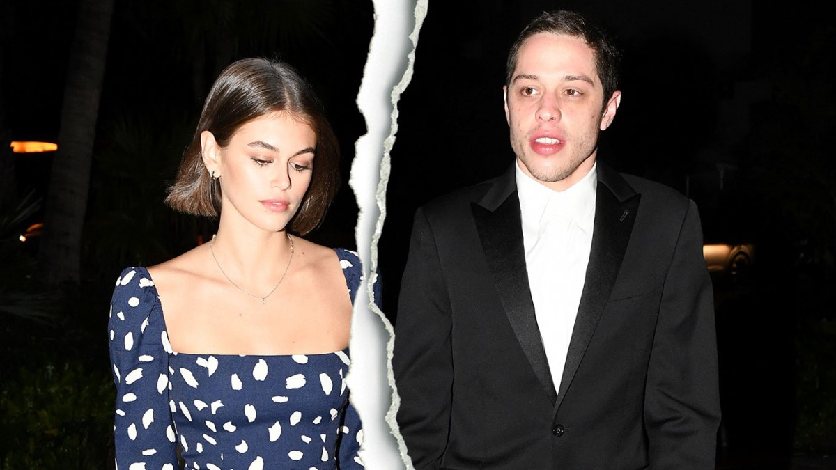 Kaia Gerber and Boyfriend Pete Davidson Split After 3 Months of Dating