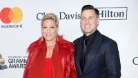 Pink and Carey Hart Red Carpet Grammy