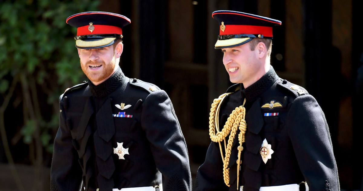 Prince Harry Prince William Spotted After Constructive Royal Family Meeting - الأمير هاري والأمير وليام يغادرون ساندرينجهام بعد اجتماع عائلي