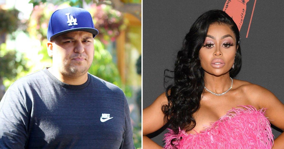 Rob Kardashian Seeks Primary Custody of His Kids With Ex Blac Chyna - روب كارداشيان يبحث عن الحراسة الأولية له ، ابنة بلاك شينا: تقرير