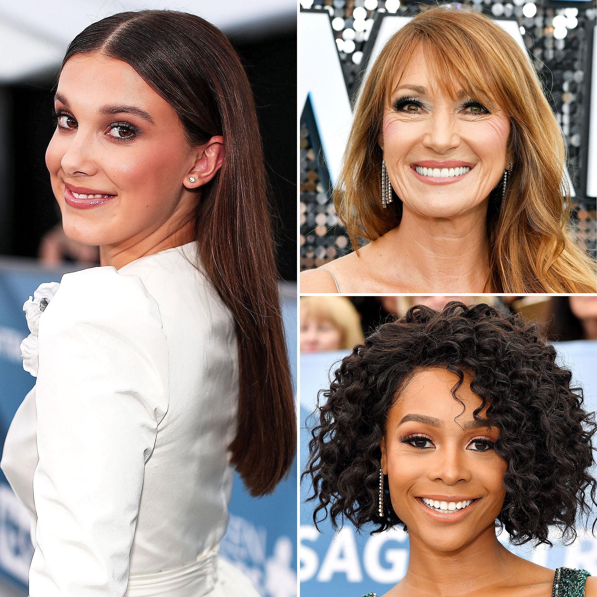 Sag Awards 2020 Best Beauty Hair Makeup Looks