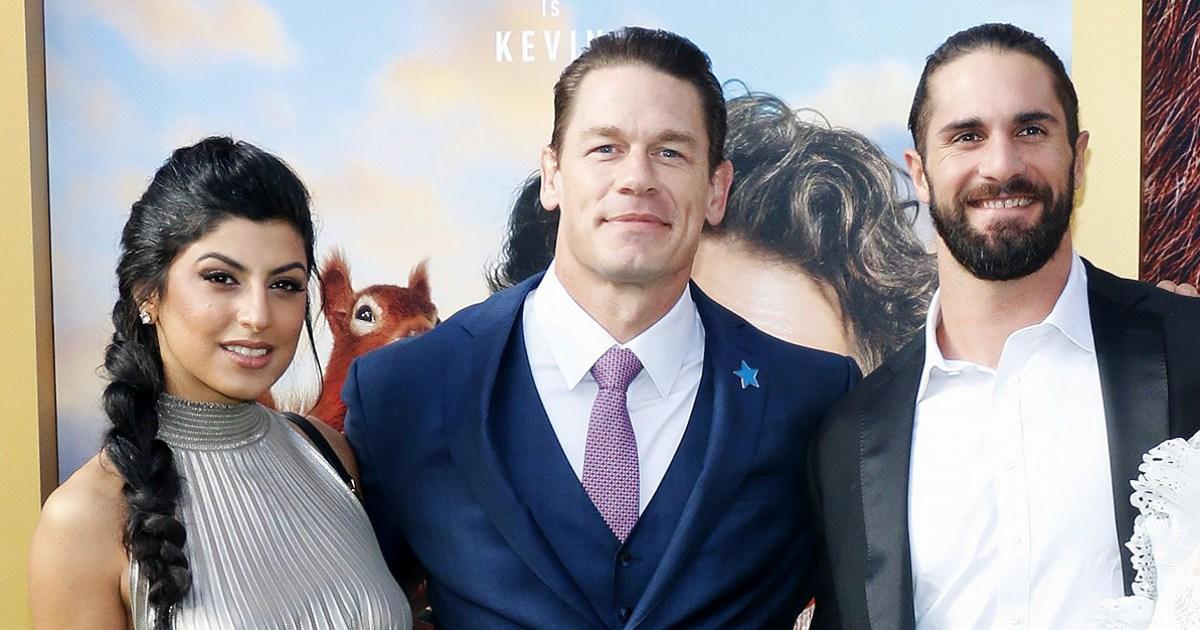 Shay Shariatzadeh John Cena Seth Rollins and Becky Lynch - سيث رولنز يشيد بعلاقة جون سينا بشاي شاريتزاده