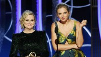 Taylor Swift Presents With Amy Poehler at Golden Globes After Beef