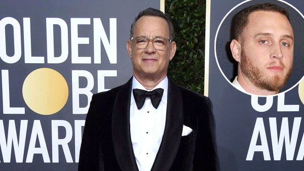 Tom Hanks' Son Chet Hanks Confuses at Golden Globes 2020