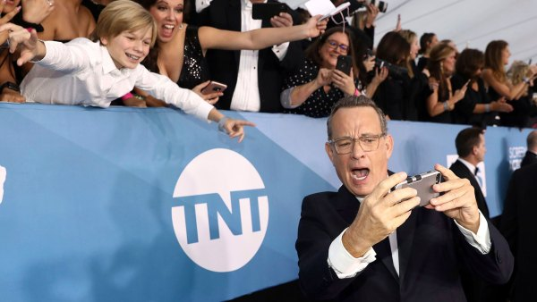Tom Hanks What You Didn't See On TV SAG Awards 2020