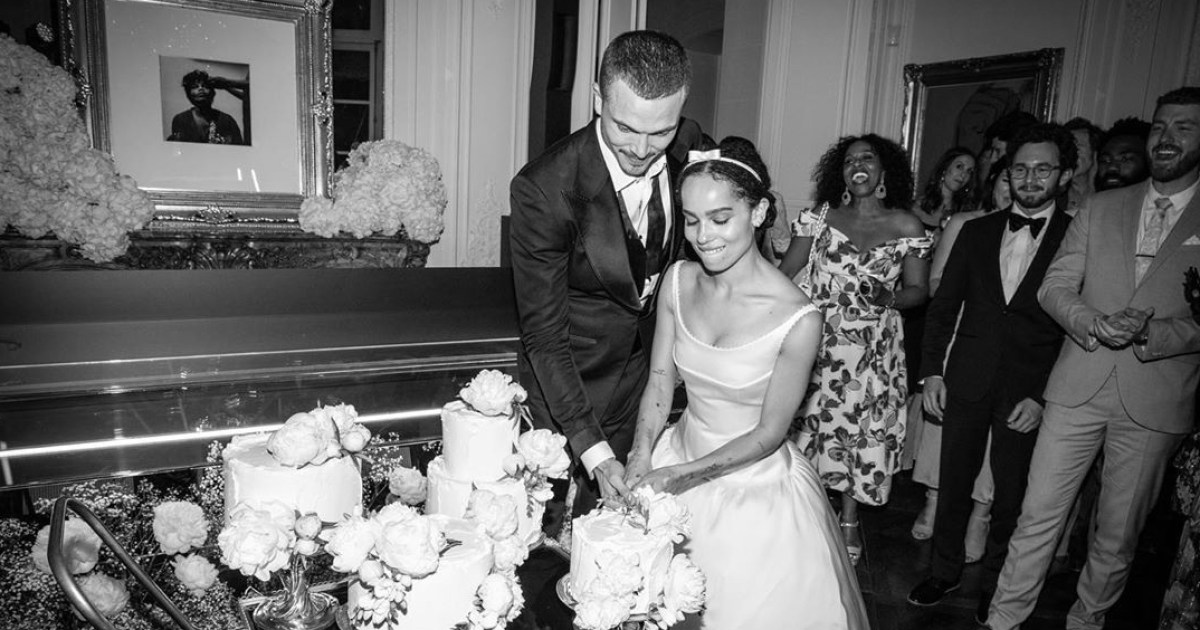 Flipboard Zoe Kravitz Gives An Inside Look Of Her Wedding