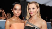 Zoe Kravitz and Reese Witherspoon Inside the SAG Awards 2020