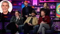Andy Cohen Grills the Backstreet Boys About Their Rivalry With 'NSync