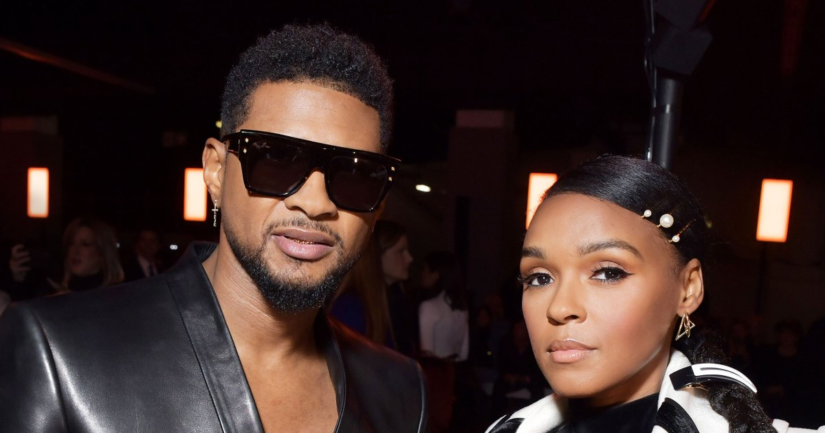 What Janelle Monae and Usher Wore to Sit Front Row at Balmain