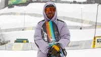 Danny Davis Copper Mountain Dew Tour 2020 Athletes Stay Warm on the Slopes