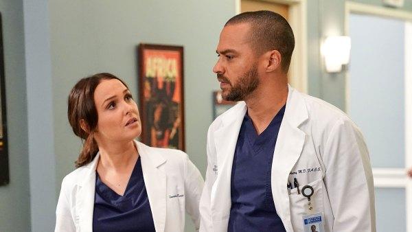 Camilla Luddington and Jesse Williams Grey's Anatomy