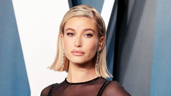 Hailey Bieber at Vanity Fair Oscars 2020 Afterparty