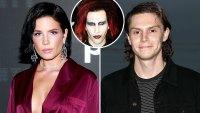 Halsey Met Evan Peters Friends 1st Time Dressed Marilyn Manson