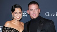 Jessie J and Channing Tatum Granny Party Play With Daughter Instagram