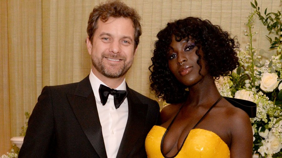 Jodie Turner-Smith Gushes Over 'Baby Daddy' Joshua Jackson as He Rubs Her Bare Belly