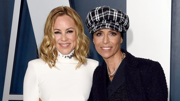 Maria Bello Reveals Engagement to Dominique Crenn at Oscars Afterparty