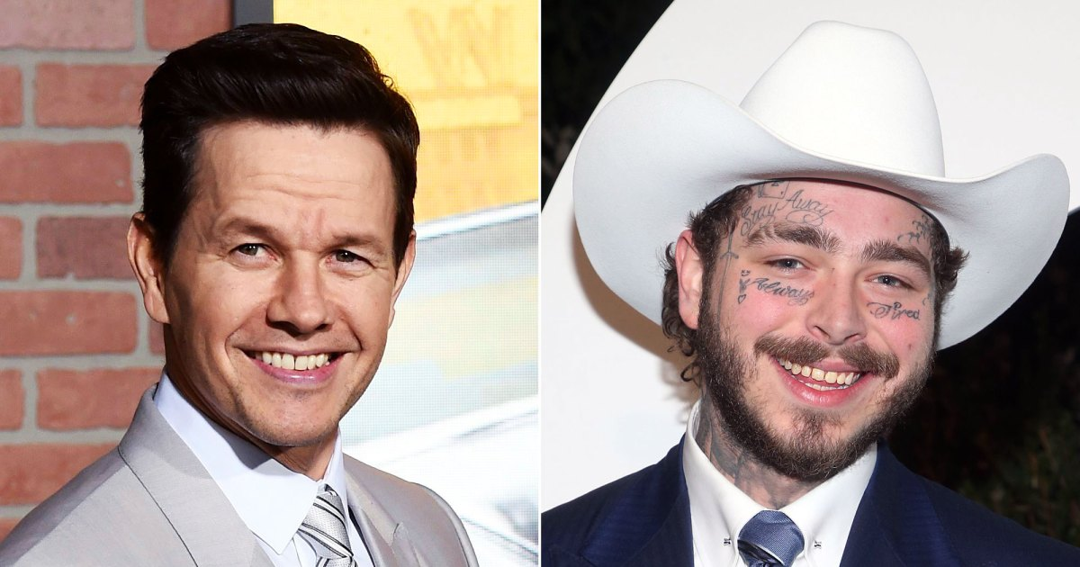 Mark Wahlberg Has Strong Feelings About Post Malone's Tattoos