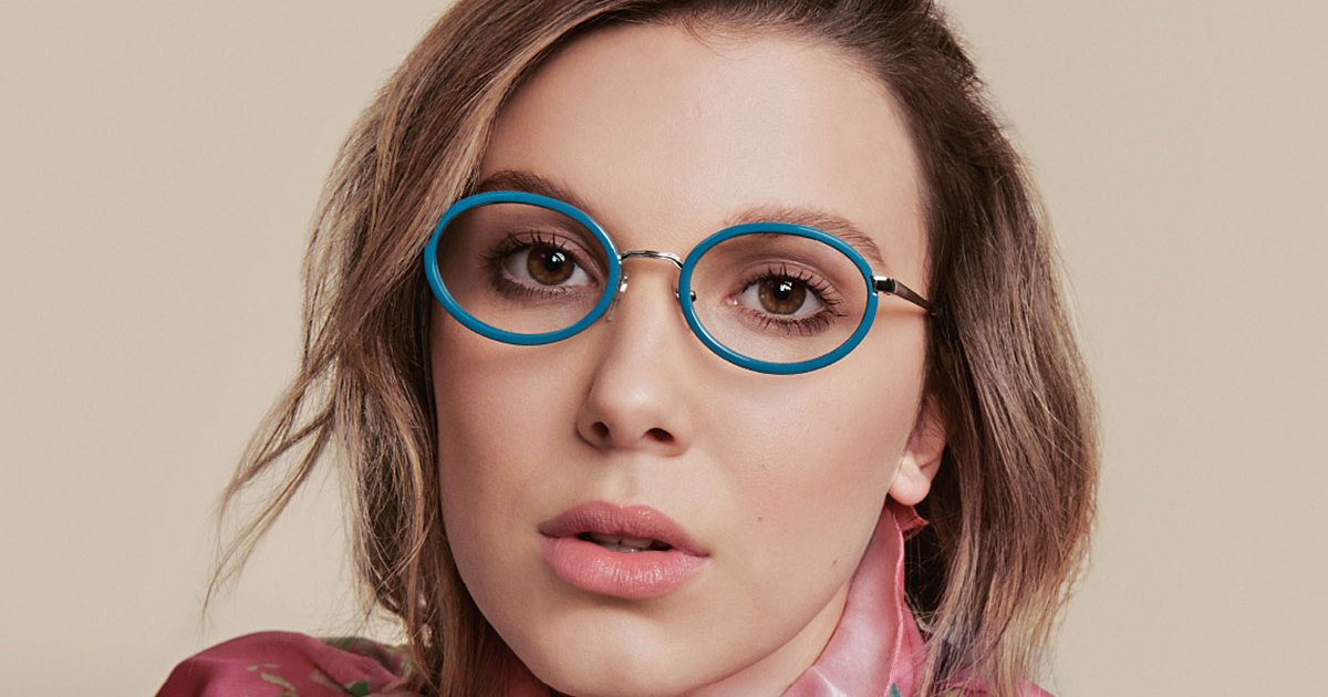 Millie Bobby Brown's Eyewear Collection Is Here, But Not for Long!