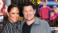 Nick Lachey Vanessa Lachey Family Album With 3 Kids