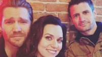 Chad Murray, Hilarie Burton and James Lafferty One Tree Hill Reunion