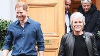Prince Harry Returns to London to Join Jon Bon Jovi at Abbey Road Studios