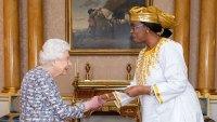 Queen Elizabeth Print Dress February 18, 2020